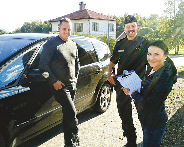 Polisen pratade med Björsätersborna som ett led i utformandet av medborgarlöften