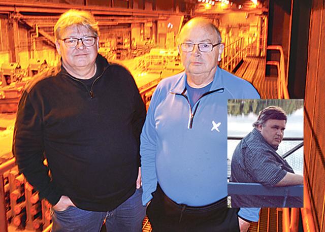 Anders Birath och Kjell Hoffman blev båda bestörta och chockade då de fick beskedet att vännen och deras förra chef, Bo- Erik Wennberg, gått ur tiden.