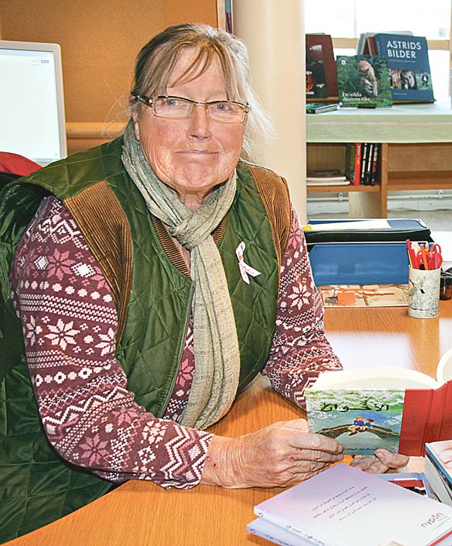 Ann Gistedt är bibliotekarie i Lysingskolans Mediatek och initiativtagare till de nyinköpta böckerna.